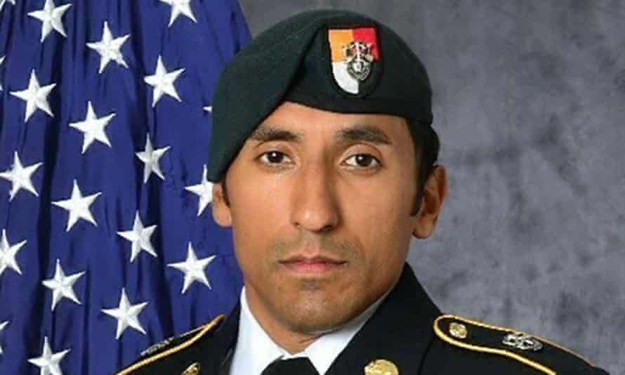 US Army staff Sgt Logan Melgar, who died from non-combat related injuries in Mali in June 2017.
