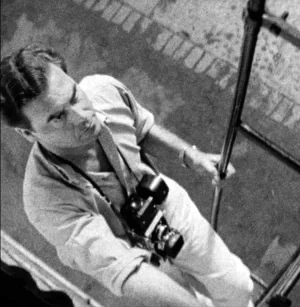 Maurice at work in the 1960s.