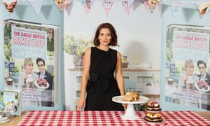 Candice Brown, winner of the final BBC series of The Great British Bake Off.