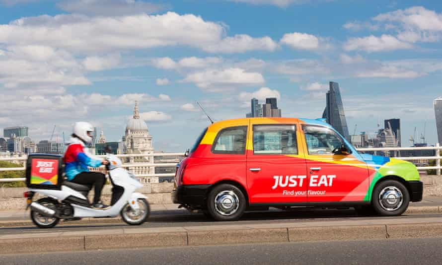 Just Eat vehicles