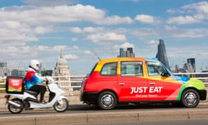 Aggregator delivery service Just Eat.