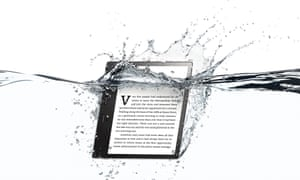 Amazon's Kindle finally goes water resistant with the new Oasis, featuring Audible audiobook integration.