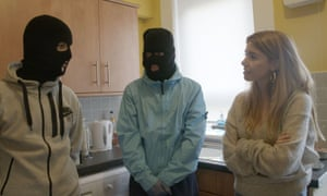 Still from Stacey Dooley Investigates: Kids Selling Drugs Online.