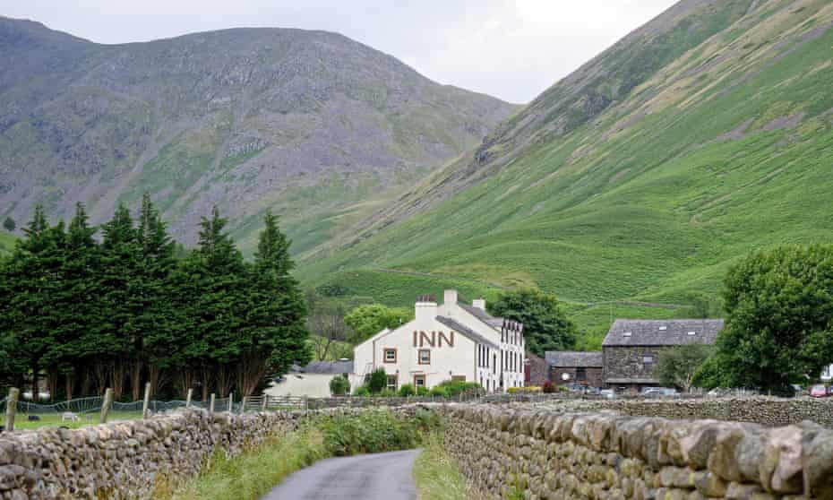 The Wasdale Head Inn in the Lake District.