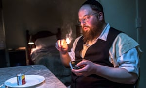 'I broke the ice' … Menashe Lustig in Menashe, a 2017 film about an ultra-Orthodox man raising his son alone in New York.
