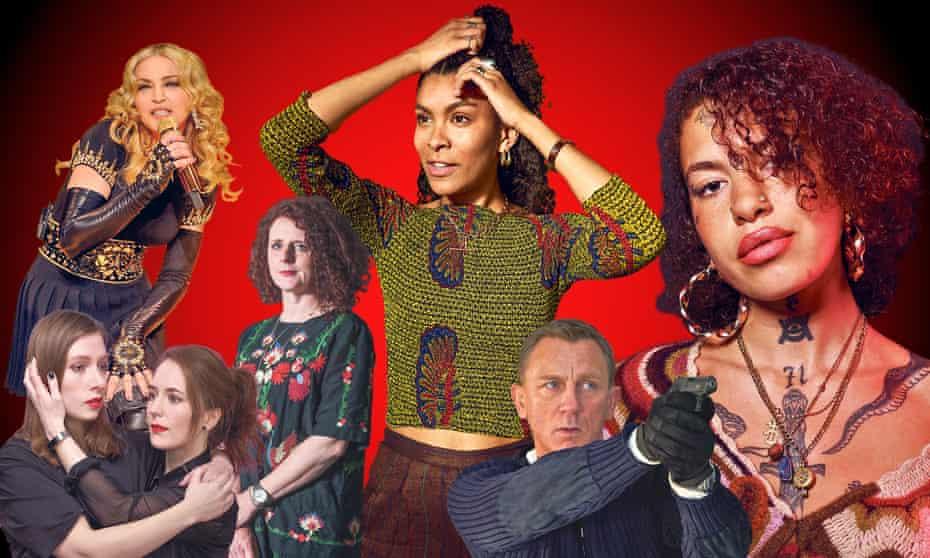 Madonna, Lazy Susan, Maggie O'Farrell, Thalissa Teixeira, Daniel Craig as Bond and Greentea Peng