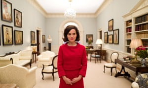 Natalie Portman as Jackie Kennedy in the film Jackie.
