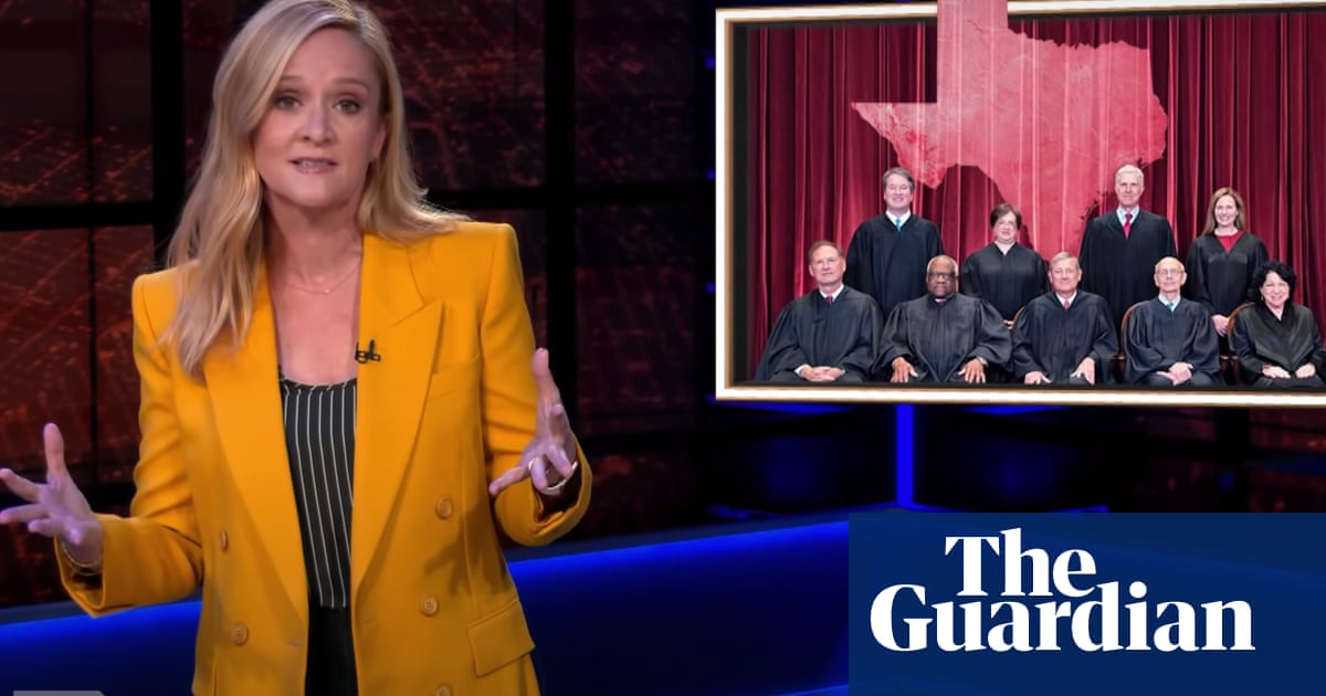 Samantha Bee brands supreme court 'gutless monsters' for Texas abortion decision