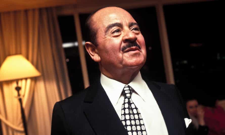 The billionaire Saudi arms dealer Adnan Khashoggi in 1996.