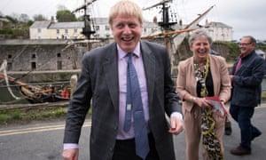 Boris Johnson and Gisela Stuart