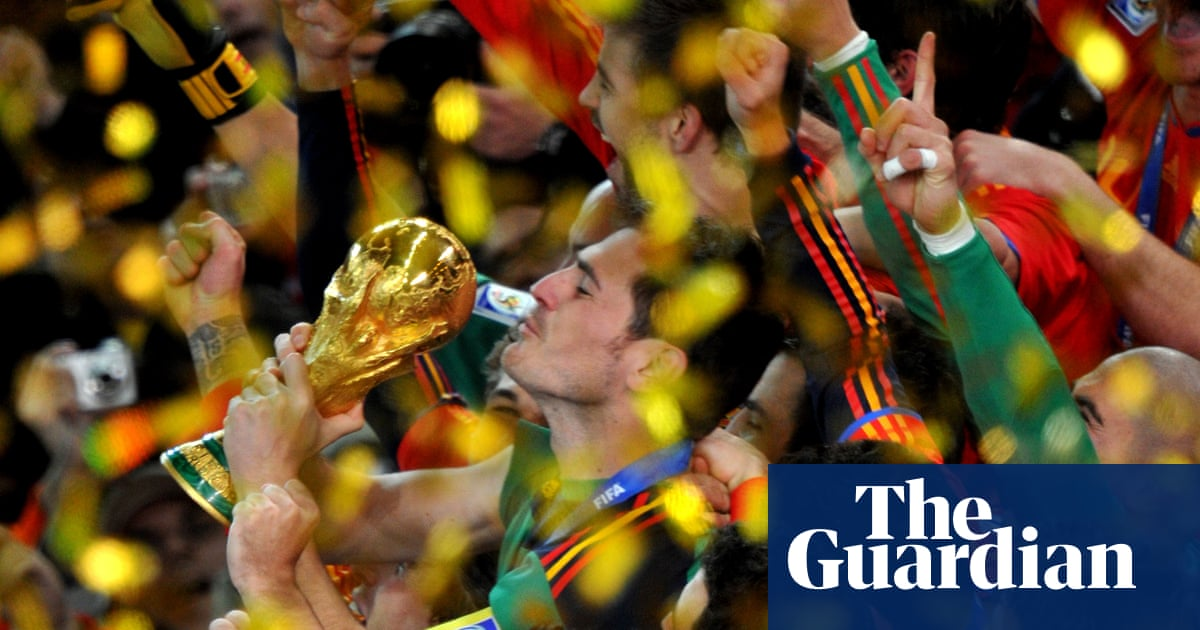 Farewell Iker Casillas, the saint who brought us saves, tears and clashes   Barry Glendenning