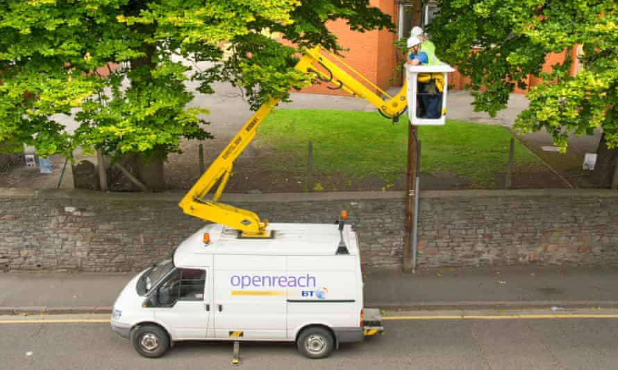 BT's network is used by rival broadband providers, and they say the company has not invested enough in the service.