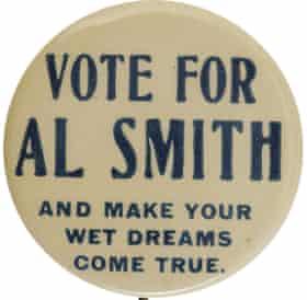 Al Smith button