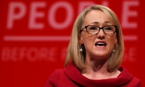 Rebecca Long Bailey addresses the 2019 Labour party annual conference