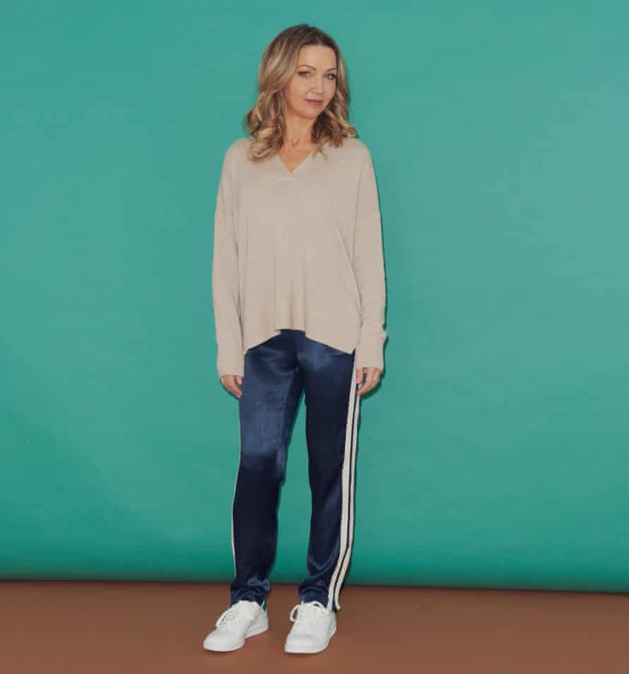 Jess Cartner-Morley in loungewear