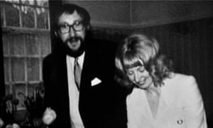 Miles Heffernan and Janette Miller at their wedding in 1972.
