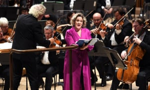 Sir Simon Rattle conducts soloist Alice Coote and the London Symphony Orchestra