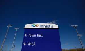 Innisfil Transit's Uber network connects popular areas, called 'hubs' such as municipal buildings and leisure amenities.