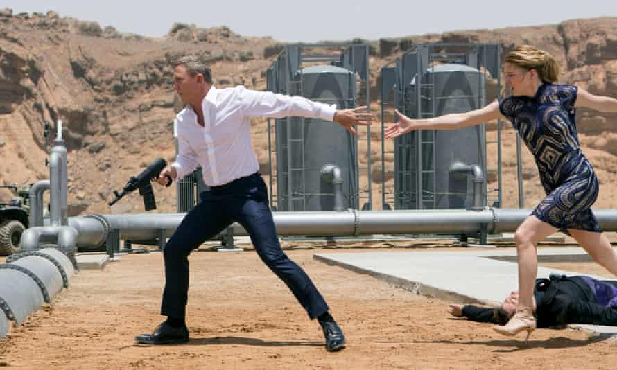 Big showdown … Spectre, the 24th Bond film; the franchise's strict format may cause friction for Fukunaga.