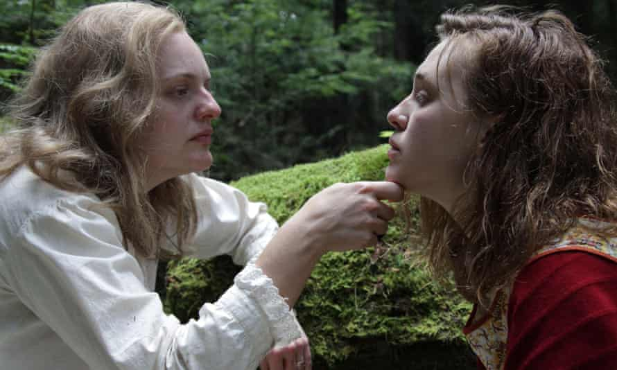 Shirley not ... Elisabeth Moss with Odessa Young in Shirley.