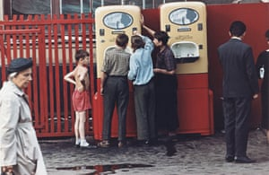 1950s – Children at a soda machine in Moscow by Dmitry BaltermantsBaranova says they recently uploaded more than 2,000 photographs by Arkady Shaikhet, a prominent Soviet photojournalist who was one of the founders of Soviet Photo captured a series of images of the world war two battle at Stalingrad and later of the liberation of Kiev