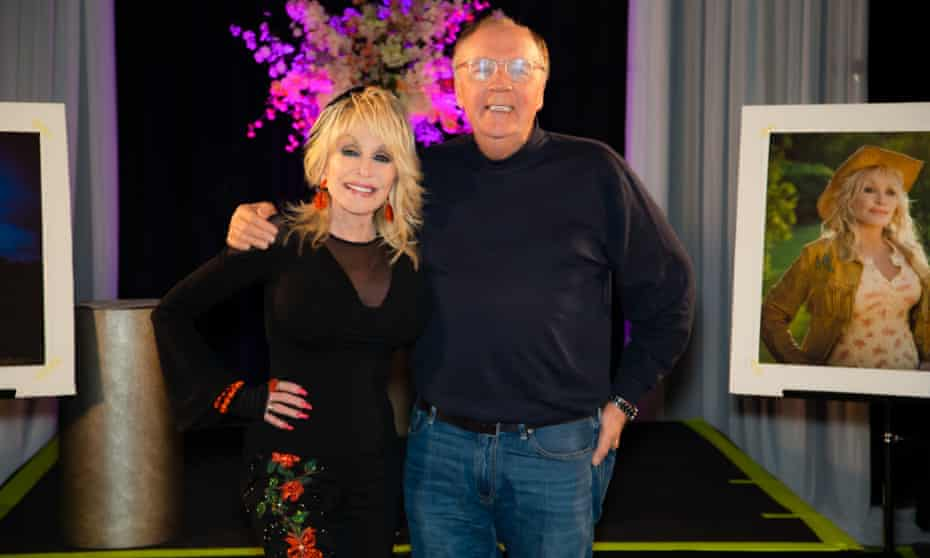 Dolly Parton and James Patterson
