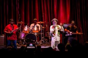 Bunny Wailer in concert in Las Vegas in 2016