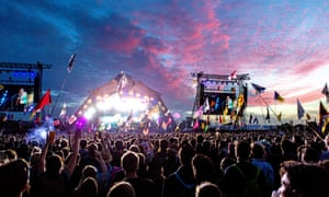 Glastonbury's Pyramid stage ... soon to host Stormzy, the Killers and the Cure.
