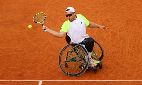 Dylan Alcott underlines status with 11th grand slam title at French Open