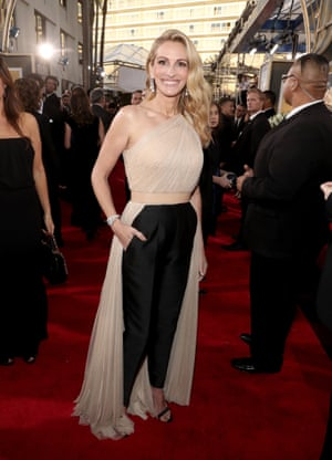 Image result for Grown-up trousers v fantasy gowns as red carpet showcases change