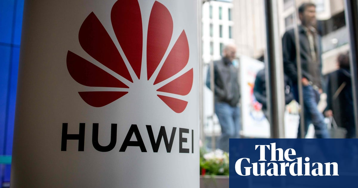 Johnson faces Tory rebellion over Huawei 5G plans for Britain