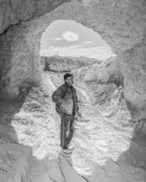 Phil in Peter's Mine, Coober Pedy, Australia