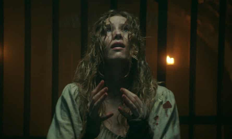 Deeply unpleasant … Charlotte Kirk in The Reckoning