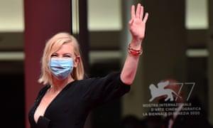 Cate Blanchett in Venice.
