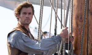 Chris Hemsworth in Ron Howard's In the Heart of the Sea