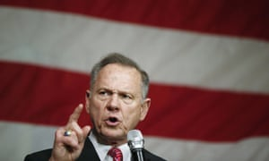 Roy Moore has denied it is his handwriting in Beverly Nelson's yearbook.