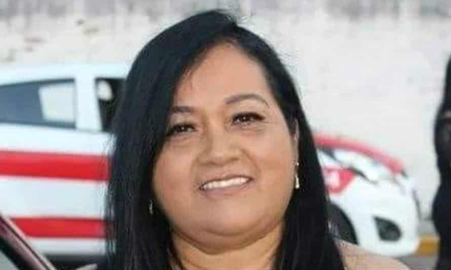María Elena Ferral.