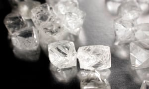 Anglo boosted by positive sales of rough diamonds