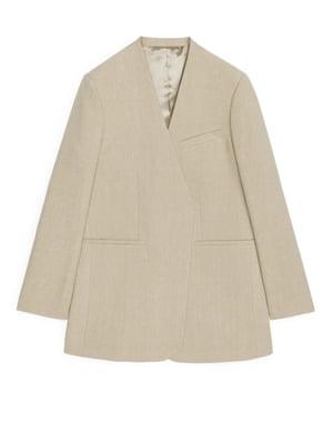Oversized linen, £150, arket.com