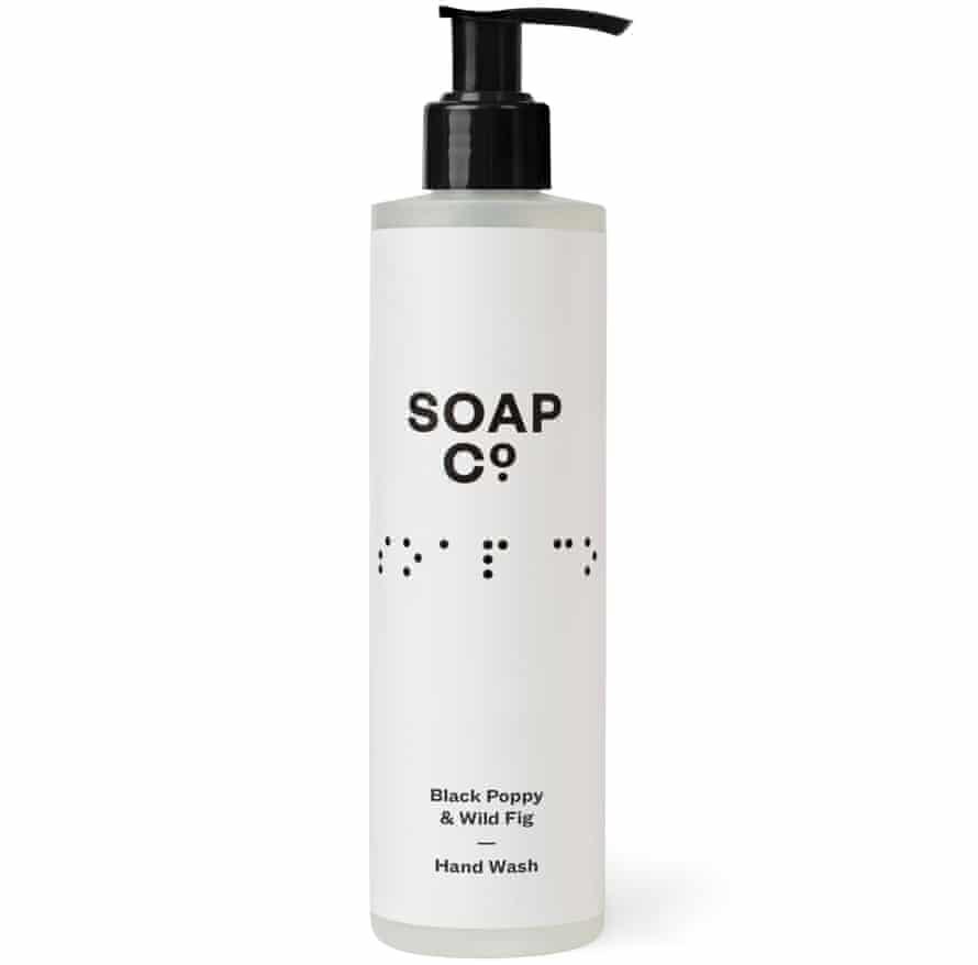 Soap Co Black Poppy & Wild Fig Hand Wash