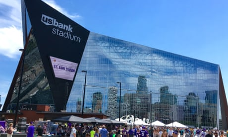 Minnesota Vikings' new glass-plated stadium becomes 'death trap' for birds
