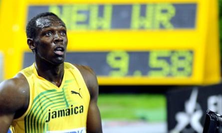 Usain Bolt world record