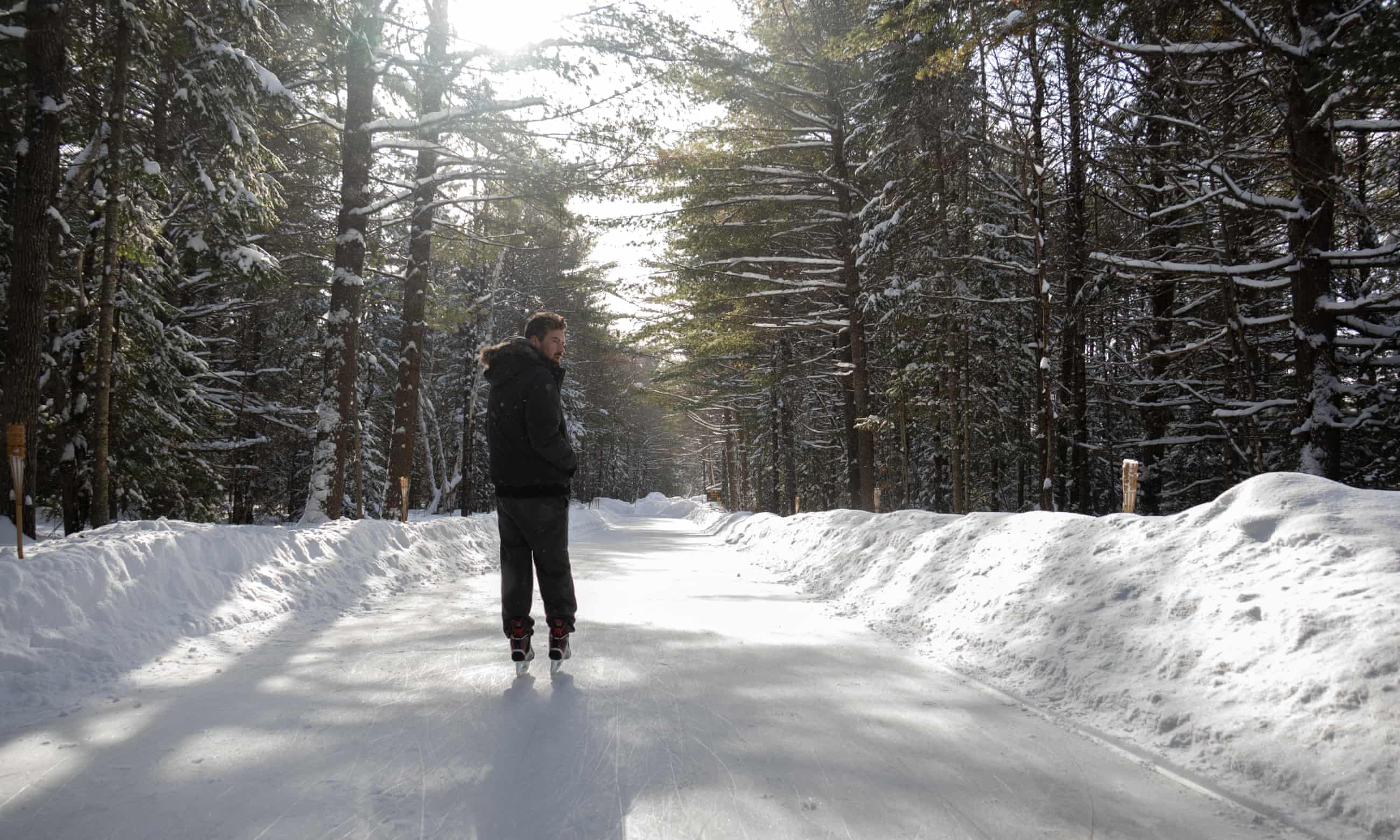 Hockey, ice fishing and frozen wine: Ontario's top winter experiences – in pictures