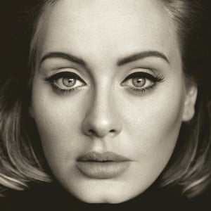 Adele's 25 album cover.