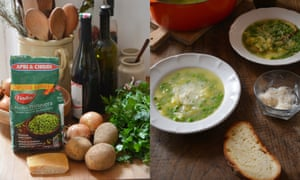 Vegetarian food and drink lifeandstyle the guardian a kitchen in rome rachel roddys quick spring soup recipe forumfinder Image collections