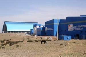 Oyu Tolgoi mine Khanbodg Sum, southern Gobi