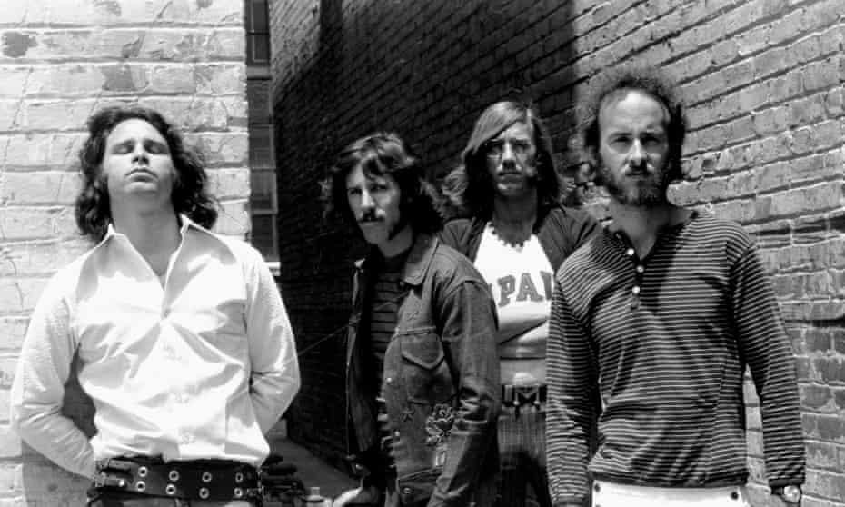 The Doors: Jim Morrison, John Densmore, Ray Manzarek and Robby Krieger.