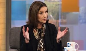 Carolyn Fairbairn appearing on TV's Peston On Sunday show.
