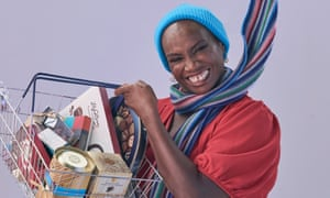 Andi Oliver tastes cheese and chocolate.