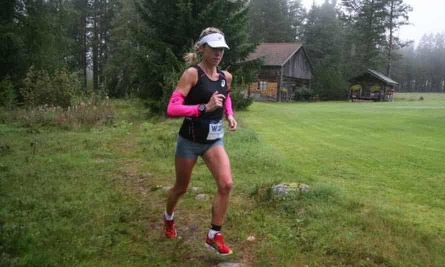 "Holly Rush on her way to victory at Ultravasan. Does anyone know the Swedish for ""pork pie""?"